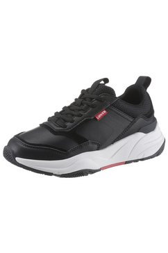 levi's plateausneakers »west regular« zwart