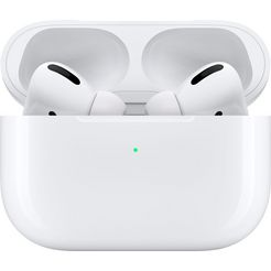 apple »airpods pro met wireless case« in-ear-hoofdtelefoon (bluetooth) wit
