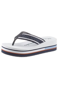 marc o'polo teenslippers blauw