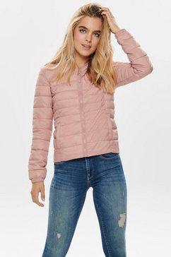 only gewatteerde jas »tahoe« roze