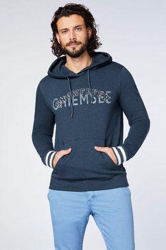 chiemsee capuchonsweatshirt blauw