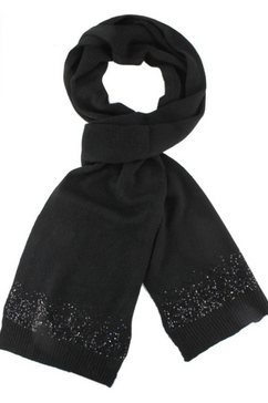 j.jayz gebreide sjaal zwart
