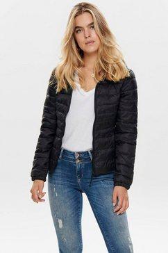 only gewatteerde jas onltahoe zwart