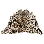 my home vloerkleed van imitatiebont »leopard look«, my home, vachtvormig, hoogte 8 mm, machinaal getuft bruin