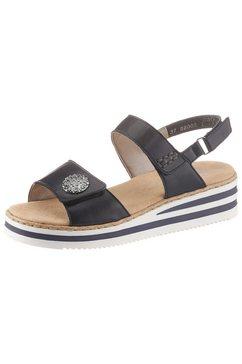 rieker sandalen blauw
