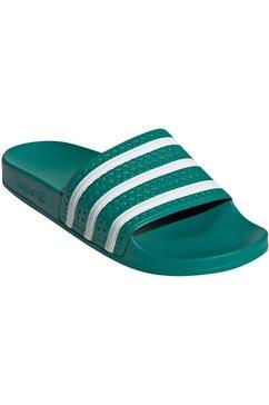 adidas originals badslippers »adilette w« groen
