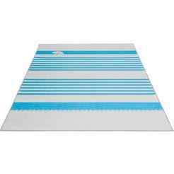 sehrazat vloerkleed voor de kinderkamer »caimas 4080«, sehrazat, rechthoekig, hoogte 5 mm, geprint blauw