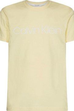 calvin klein t-shirt geel