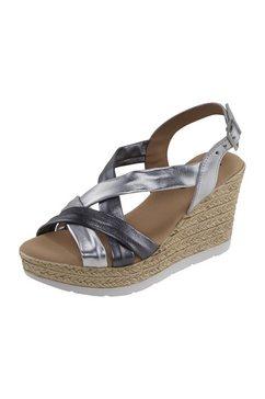 sandaaltjes met sleehak zilver