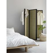 karup roomdivider wabi roomdivider met een vleugje van japan. eenvoudig opgevouwen en opgeborgen. beige