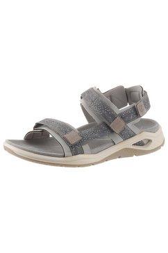 ecco sandalen »x-trinsic« grijs