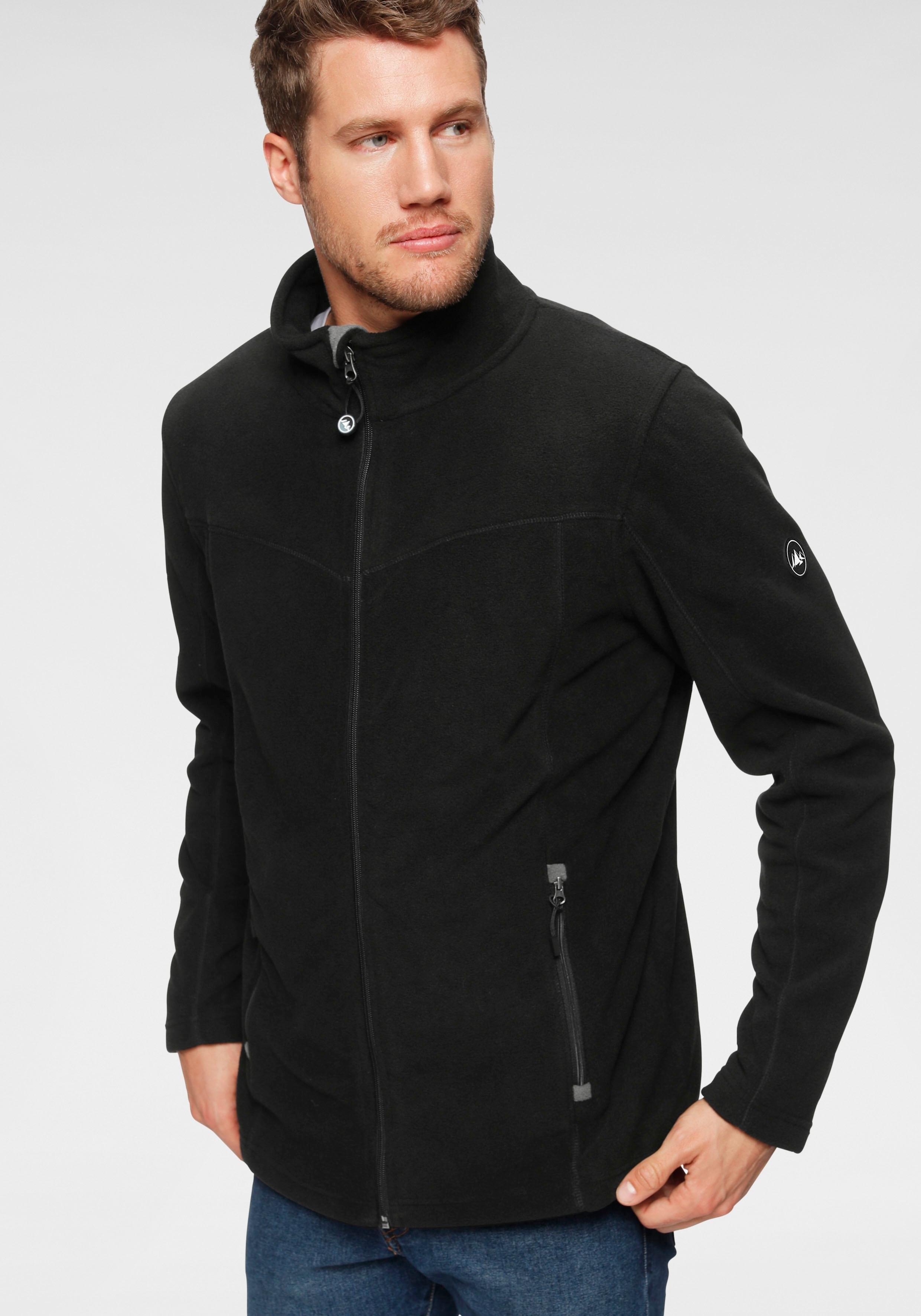 Polarino Fleece-jasje met staande kraag nu online bestellen