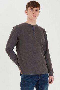 blend shirt met lange mouwen bhnoble grijs