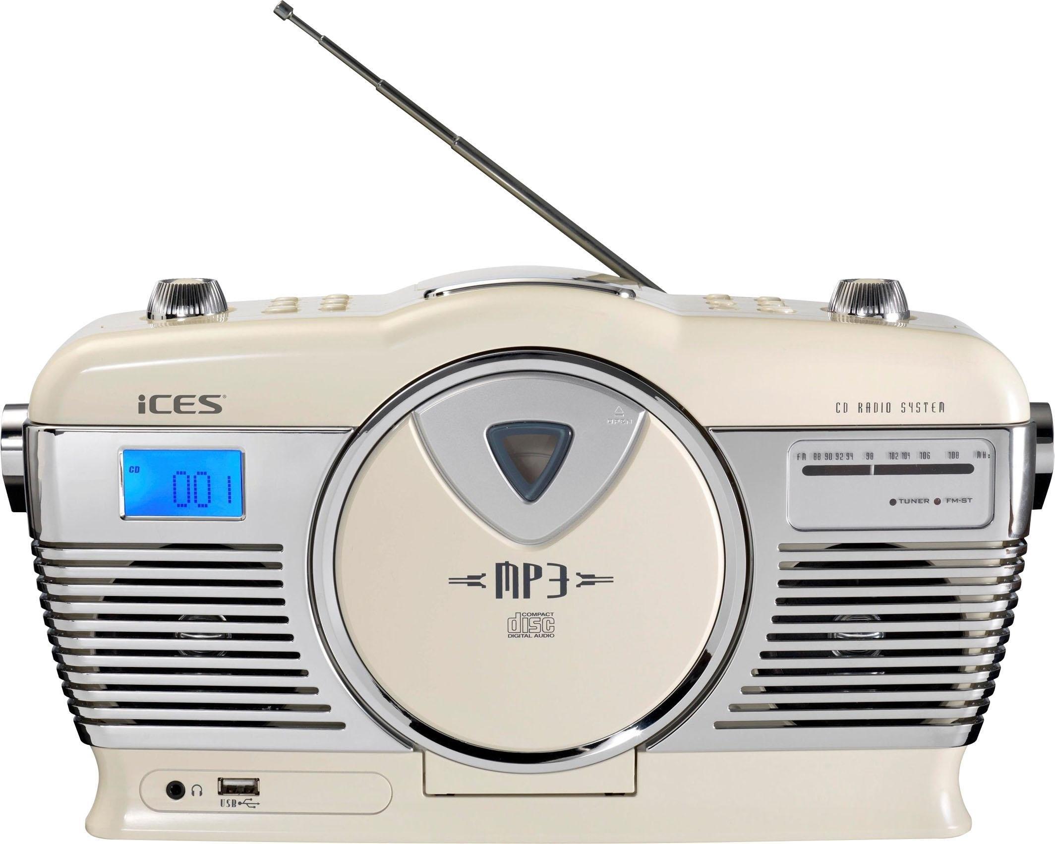 Lenco Retro-radio »ISCD-33« (FM-Tuner) voordelig en veilig online kopen