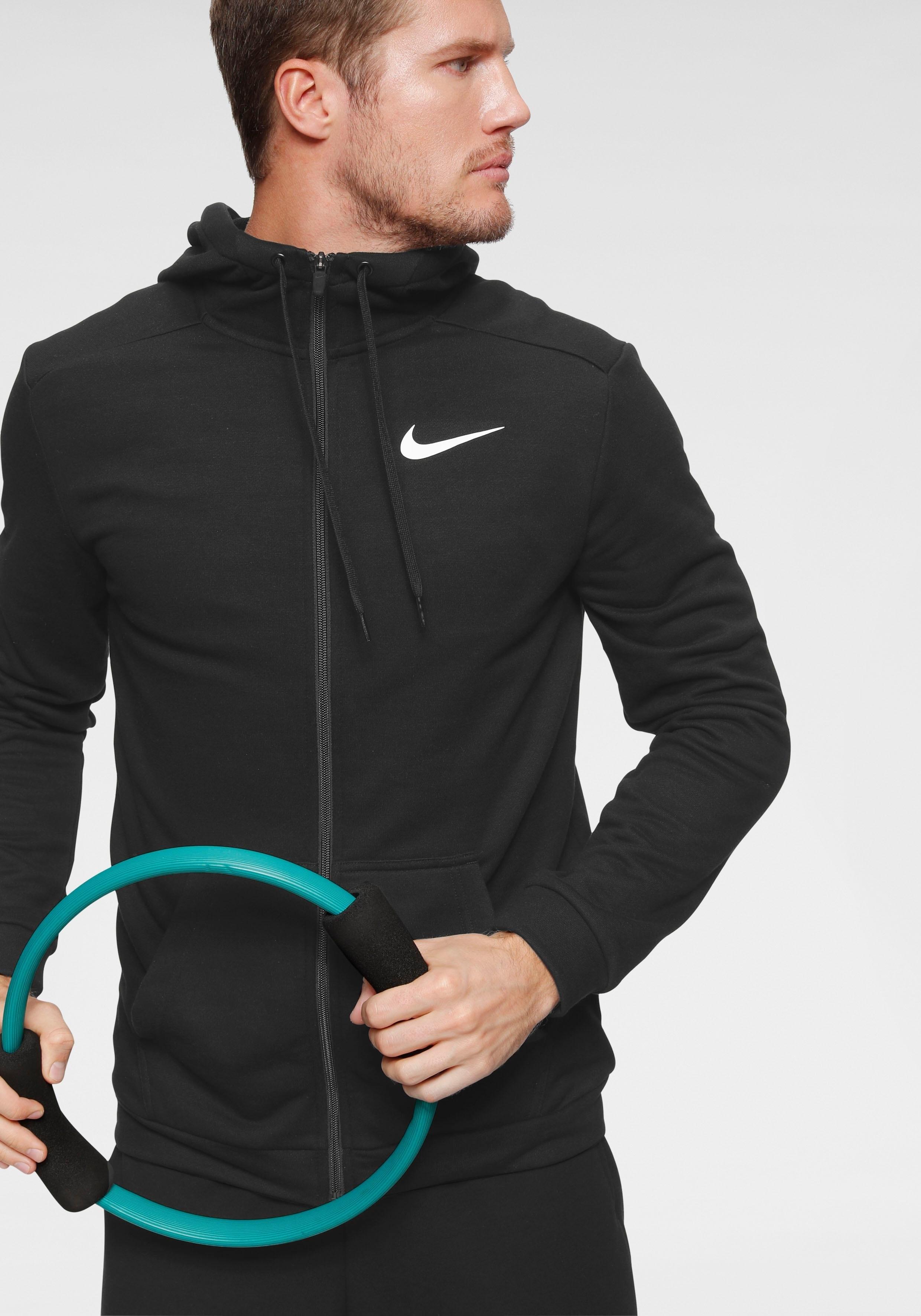 Nike capuchonsweatvest »Nike Dri-FIT Men's Full-Zip Training Hoodie« bij OTTO online kopen