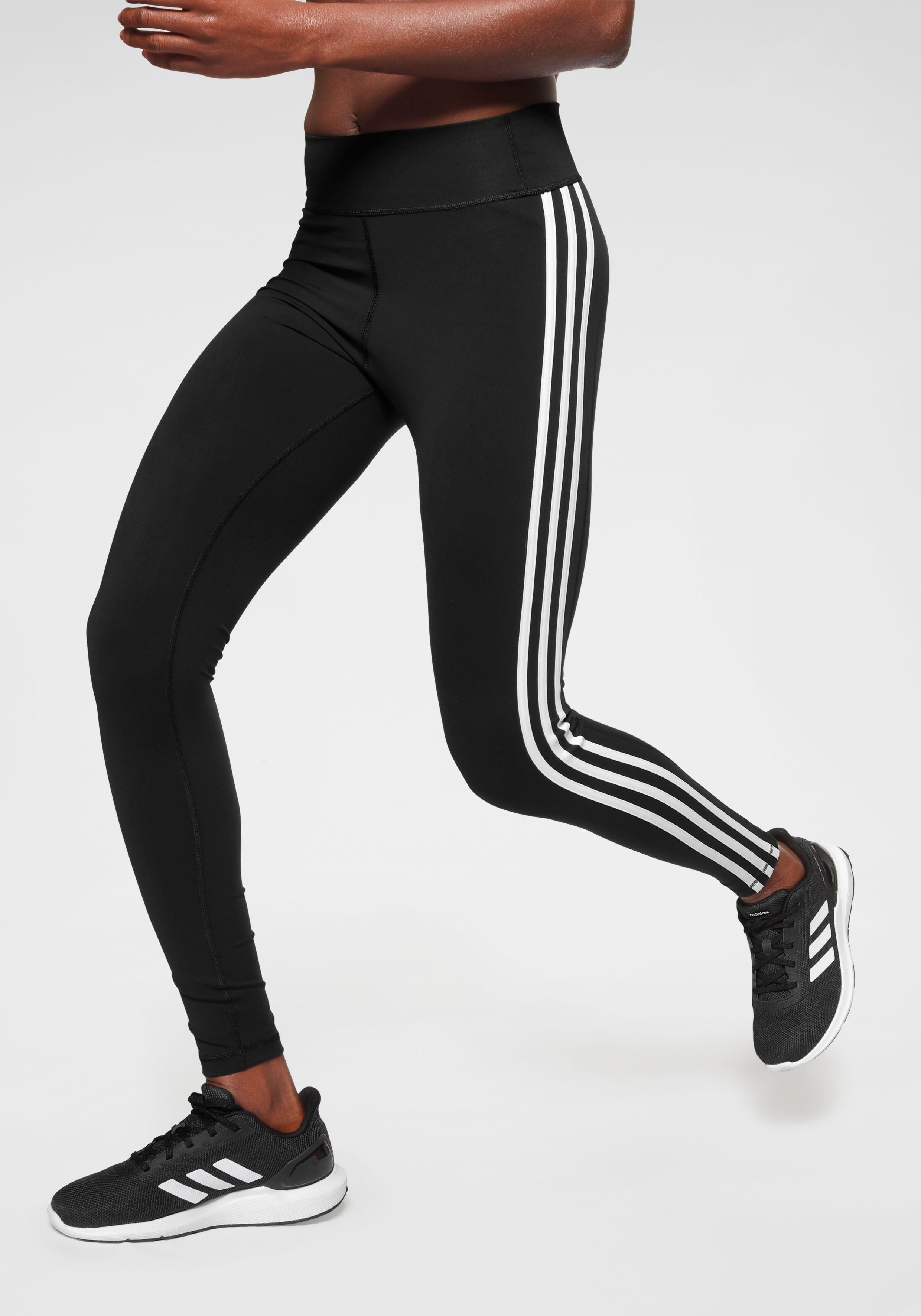 adidas Performance functionele tights »PULSE LONG REGULAR RISE 3 STRIPES TIGHT« in de webshop van OTTO kopen