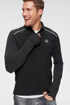 nike runningshirt »nike men's long-sleeve running top« zwart