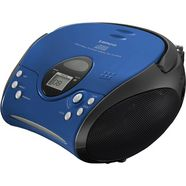 lenco fm-radio scd-24 met cd stereo blauw