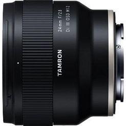 tamron »af 24mm f-2.8 di iii osd 1-2 macro (fuer sony)« groothoekobjectief zwart
