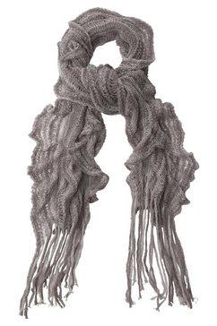 j.jayz gebreide sjaal grijs