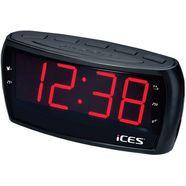 lenco wekkerradio »ices icr-230-1 zwart