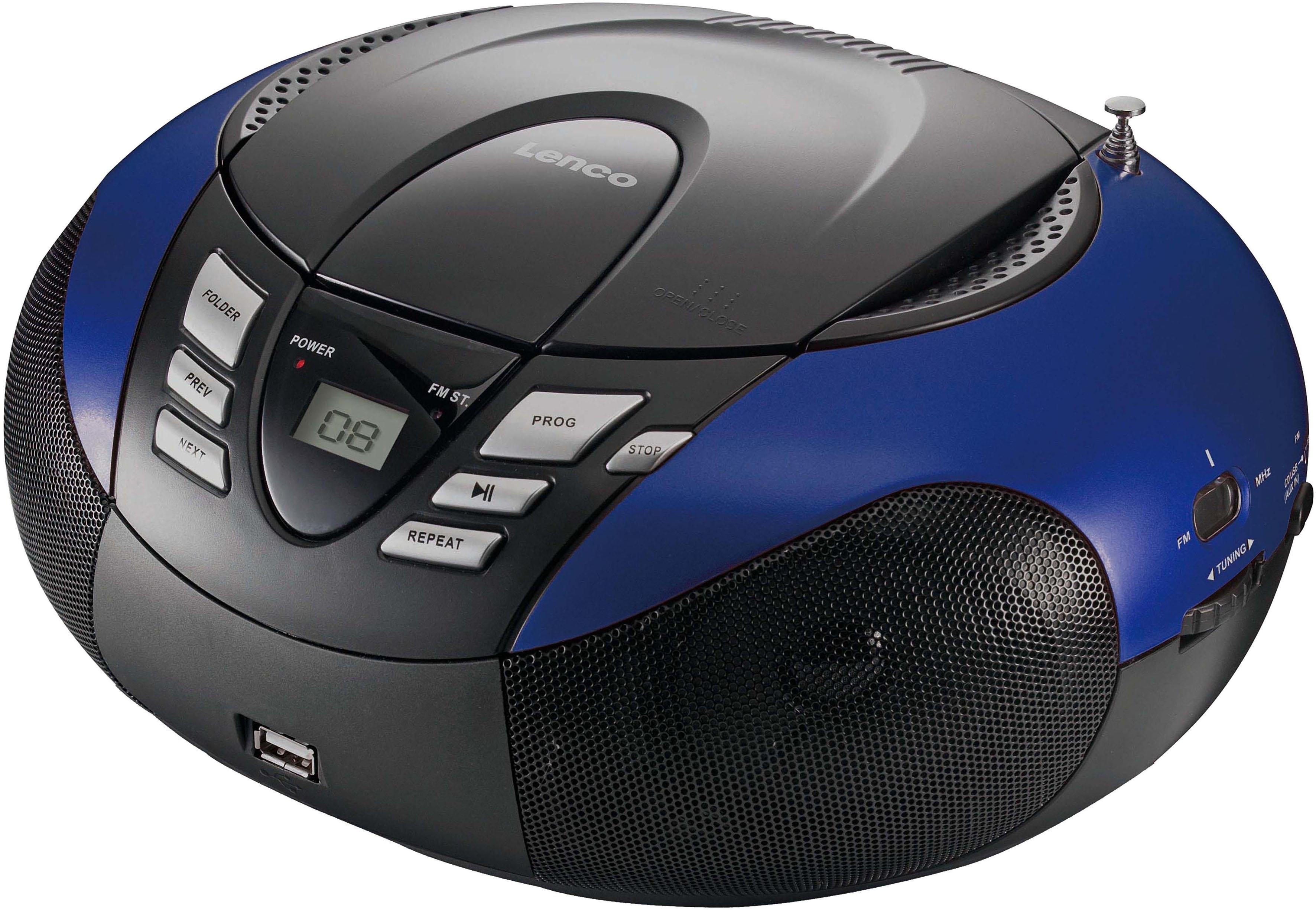 Lenco FM-radio SCD-37 draagbare radio met cd-speler/USB bestellen: 30 dagen bedenktijd