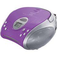 lenco fm-radio scd-24 met cd stereo zilver