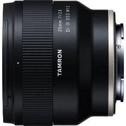 tamron »af 20mm f-2.8 di iii osd 1-2 macro (fuer sony)« groothoekobjectief zwart