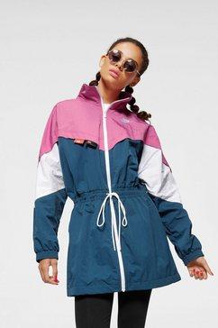 nike sportswear lang jack »nike sportswear women's woven track jacket« blauw