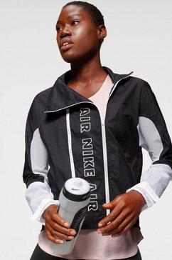 nike runningjack »nike air women's full-zip running jacket« zwart