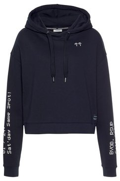 marc o'polo denim hoodie blauw