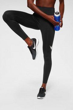 nike runningtights »nike women's 7-8 running tights« zwart