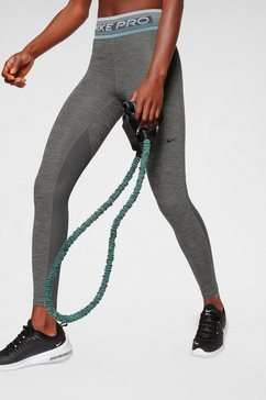 nike functionele tights »nike pro women's printed tights« grijs