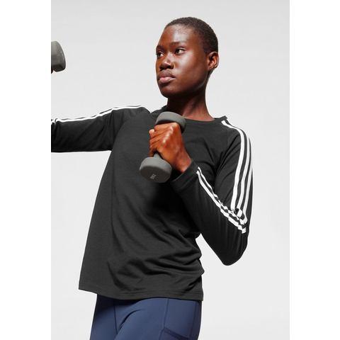 adidas Performance shirt met lange mouwen 3 STRIPES LONGSLEEVE