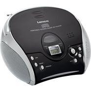 lenco fm-radio scd-24 met cd stereo zwart