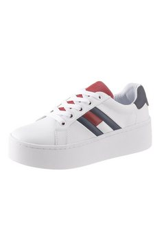 tommy jeans plateausneakers »roxie 4a« wit