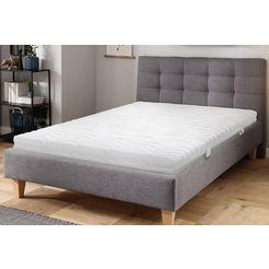 beco exclusiv comfortschuimmatras vario standaard elastisch, universeel en comfortabel te bedienen hoogte 14 cm wit