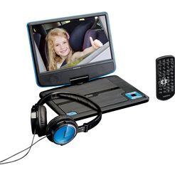 lenco draagbare dvd-speler »dvp-910« schwarz