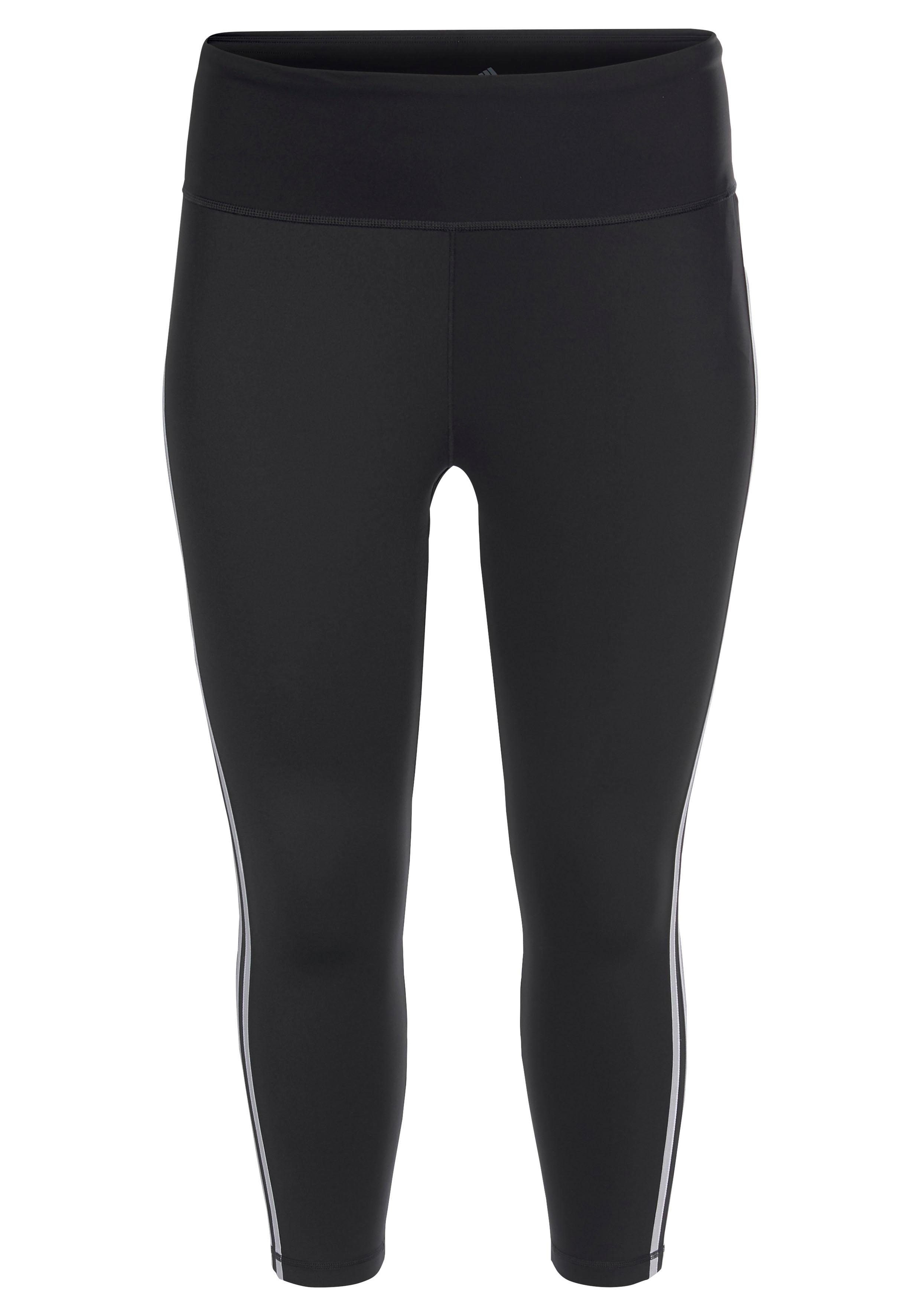 Adidas Performance Functionele Tights 3 Stripes 7/8 In De Online Shop - Geweldige Prijs