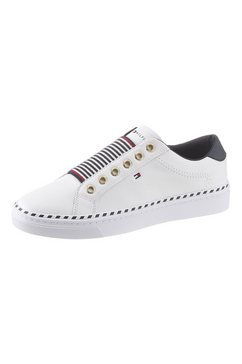 tommy hilfiger sneakers »tommy elastic city sneaker« wit