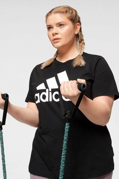 adidas performance t-shirt »women badge of sport tee« zwart