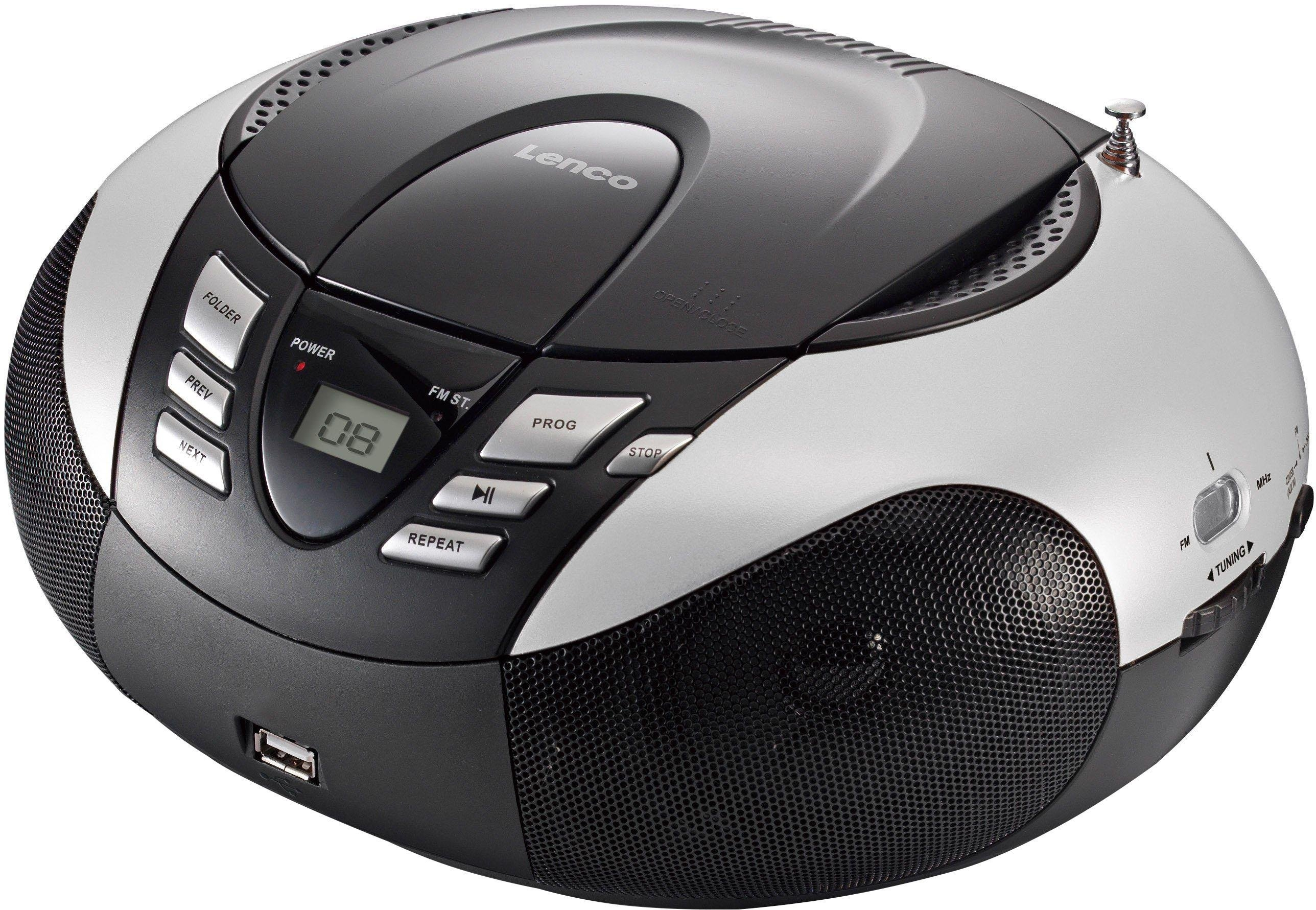 Lenco »SCD-37 Portables Radio mit CD Player/USB« FM-radio bestellen: 30 dagen bedenktijd