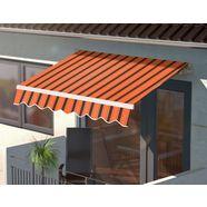 konifera zonnescherm met knikarm oranje
