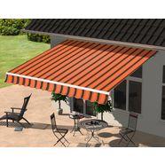 konifera zonnescherm met knikarm breedte - failure: 195-150 cm, in diverse kleuren. oranje