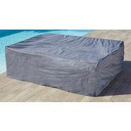 konifera beschermhoes »chicago«, loungeset, (l-b-h) 184x230x71 cm grijs