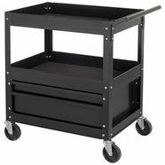 profiwerk lege gereedschapswagen »detroit ii«, 2 laden, zelfmontage zwart