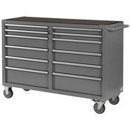 profiwerk lege gereedschapswagen »miami iii«, 2x6 laden, afsluitbaar, voor zelfmontage grijs