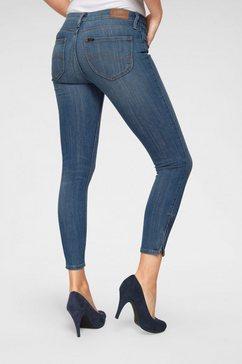 lee skinny jeans blauw