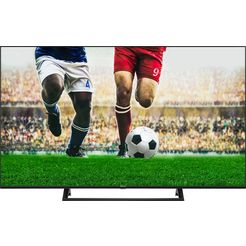 hisense 43ae7200f led-televisie (108 cm - (43 inch), 4k ultra hd, smart-tv zwart