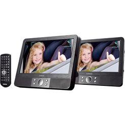 lenco draagbare dvd-speler »mes-405« zwart
